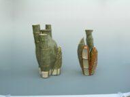 bamboo/pot/bamboo  2009  h23×15×15,h20×10×10cm