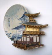 (side)  kinkakuji/plate