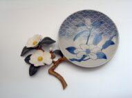 camellia/plate  2008  h36×43×6cm