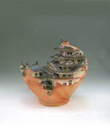 pot/castle  2008  h46×45×45cm