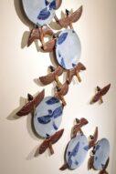 sparrows/plate set